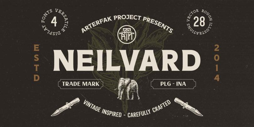 Neilvard [6 Fonts] | The Fonts Master
