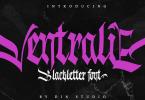 Ventralie [1 Font] | The Fonts Master