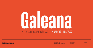 Galeana Super Family [48 Fonts] | The Fonts Master