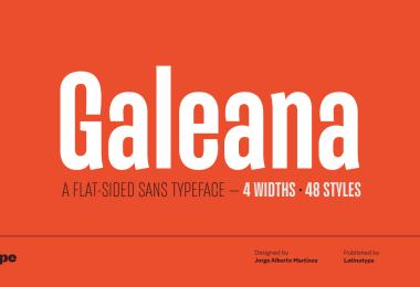 Galeana Super Family [48 Fonts] | The Fonts Master