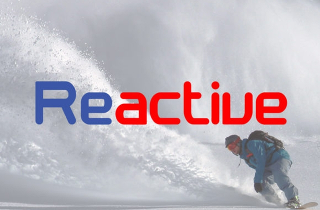 Reactive [2 Fonts] | The Fonts Master