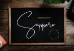 Sapporo [1 Font] | The Fonts Master