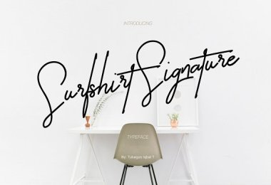 Surfshirt Signature [1 Font] | The Fonts Master