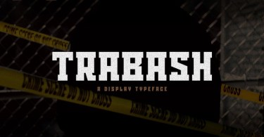 Trabash [3 Fonts] | The Fonts Master