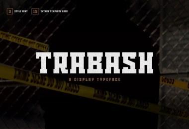 Trabash [3 Fonts]   The Fonts Master