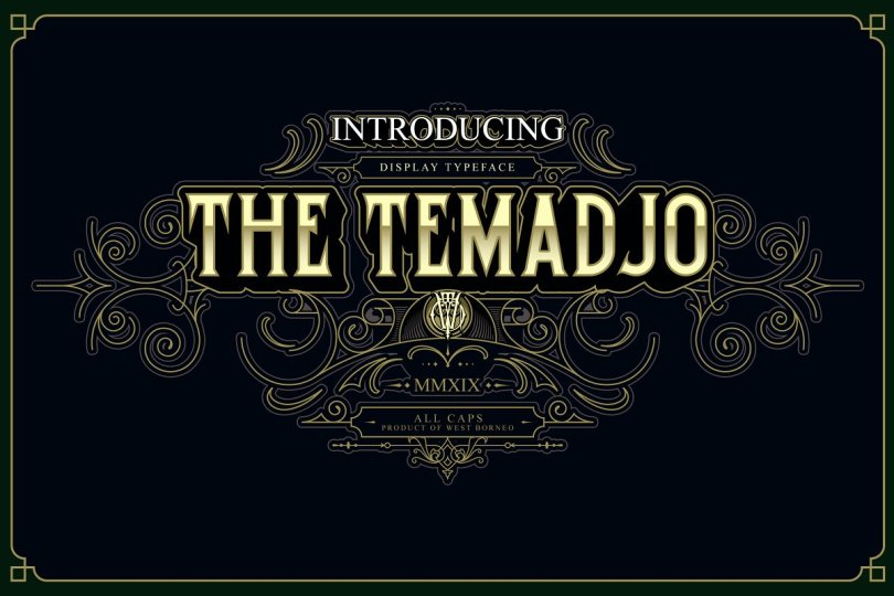 Temadjo [2 Fonts] | The Fonts Master