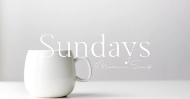 Sundays [1 Font] | The Fonts Master