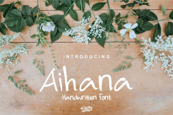 Aihana [3 Fonts] | The Fonts Master