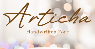 Articha [1 Font] | The Fonts Master