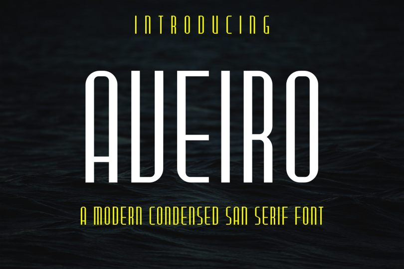 Aveiro [1 Font] | The Fonts Master