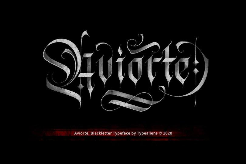 Aviorte [1 Font] | The Fonts Master