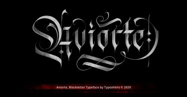 Aviorte [1 Font] | The Fonts Master