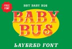 Baby Bus [2 Fonts]   The Fonts Master