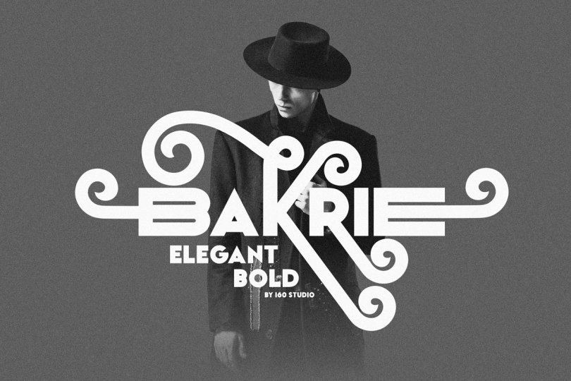 Bakrie [1 Font] | The Fonts Master