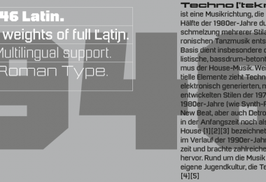 946 Latin Super Family [75 Fonts] | The Fonts Master