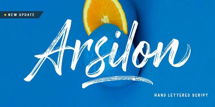 Arsilon [2 Fonts] | The Fonts Master