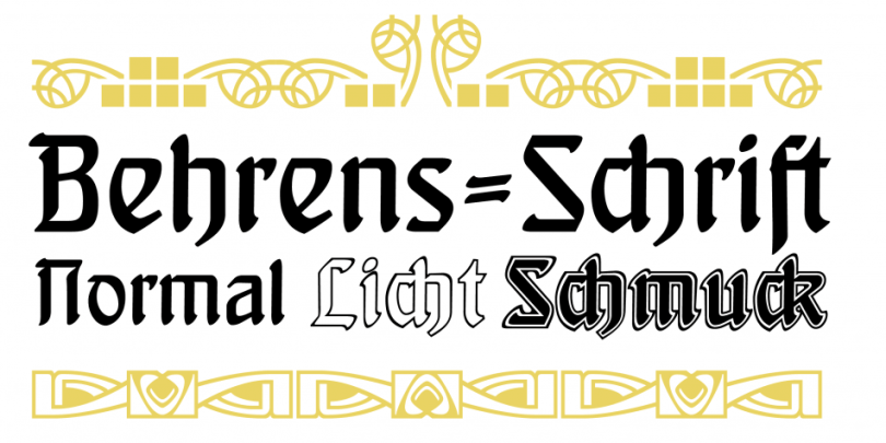 Behrens Schrift [4 Fonts] | The Fonts Master