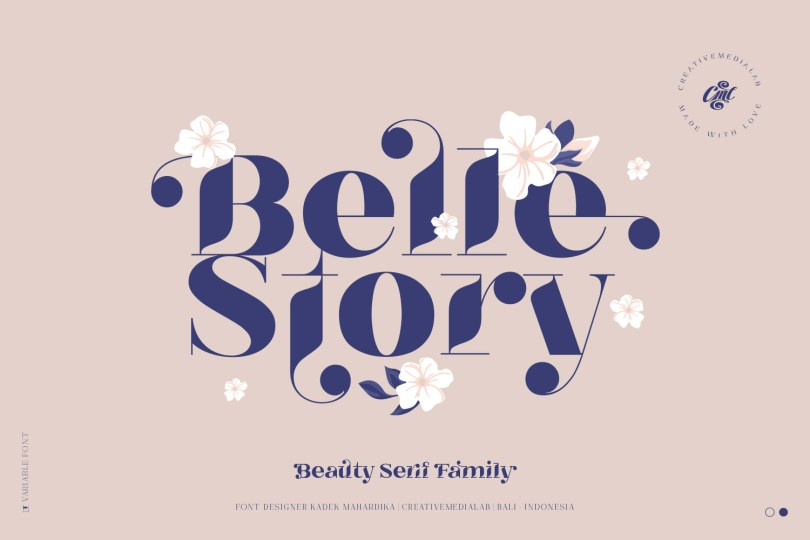 Belle Story [20 Fonts] | The Fonts Master