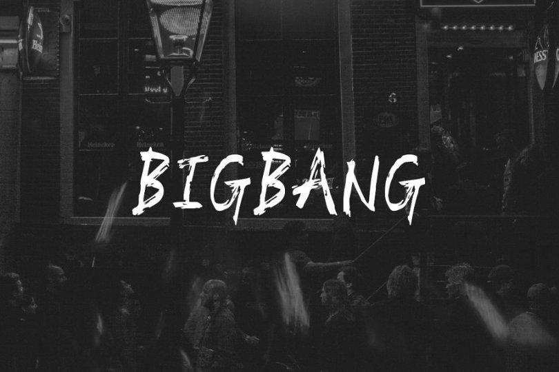 Bigbang [1 Font] | The Fonts Master