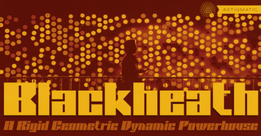 Blackheath Pro Aoe [2 Fonts] | The Fonts Master