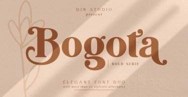 Bogota [2 Fonts] | The Fonts Master
