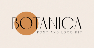 Botanica [1 Font] | The Fonts Master