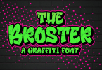 Broster [1 Font] | The Fonts Master