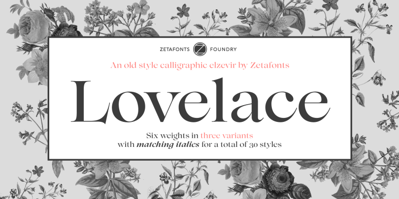 Lovelace Super Family [30 Fonts] | The Fonts Master