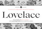 Lovelace Super Family [30 Fonts] | The Fonts Master