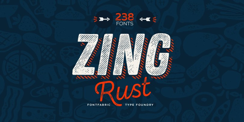 Zing Rust Super Family [238 Fonts] | The Fonts Master