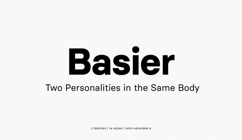 Basier [16 Fonts] | The Fonts Master