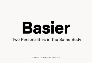 Basier [16 Fonts] | The Fonts Master