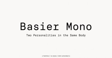 Basier Mono [16 Fonts] | The Fonts Master