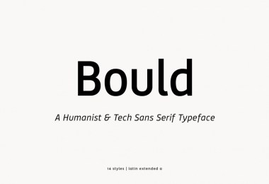 Bould [14 Fonts] | The Fonts Master