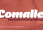 Comalle [1 Font] | The Fonts Master