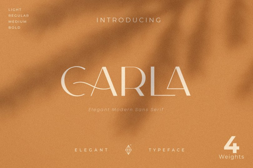 Carla Sans [4 Fonts]   The Fonts Master