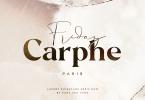 Carphe [2 Fonts] | The Fonts Master