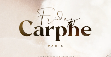 Carphe [2 Fonts] | The Fonts Master