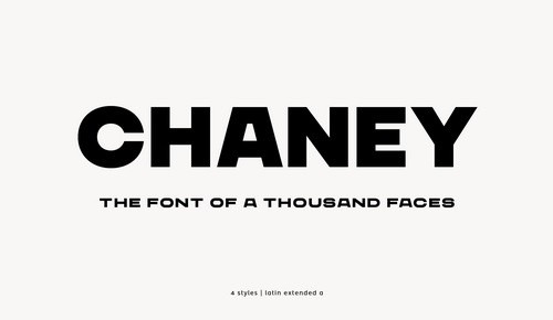Chaney [4 Fonts] | The Fonts Master