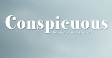 Conspicuous [1 Font] | The Fonts Master