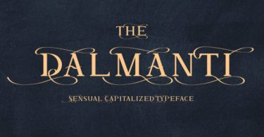 Dalmanti [1 Font]   The Fonts Master