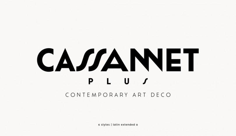 Cassannet Plus [6 Fonts] | The Fonts Master
