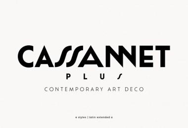 Cassannet Plus [6 Fonts]   The Fonts Master