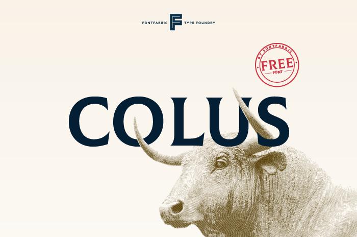 Colus [1 Font] | The Fonts Master