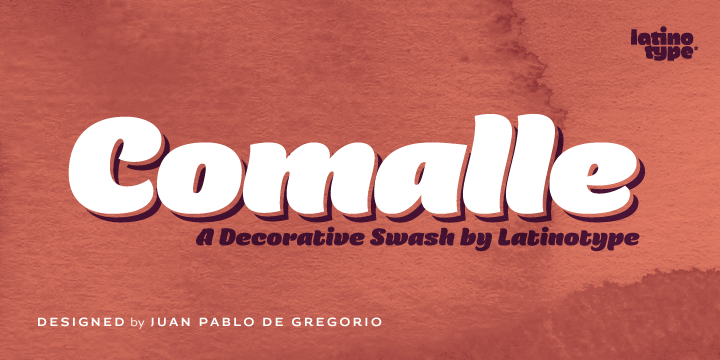 Comalle [1 Font]   The Fonts Master