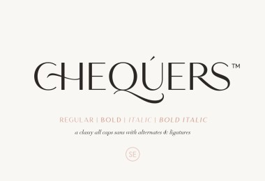 Chequers [4 Fonts] | The Fonts Master