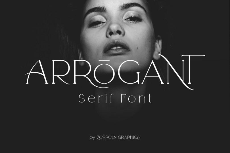 Arrogant [2 Fonts] | The Fonts Master