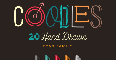 Coodles [20 Fonts] | The Fonts Master