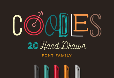 Coodles [20 Fonts]   The Fonts Master