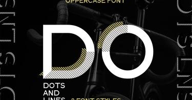 Dots &Amp; Lines [9 Fonts] | The Fonts Master